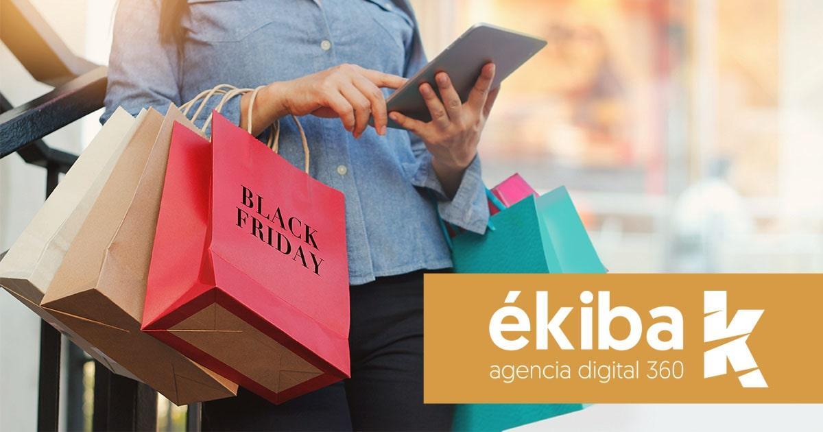 Prepara tu ecommerce para un aumento de ventas en el Black Friday - Agencia ékiba