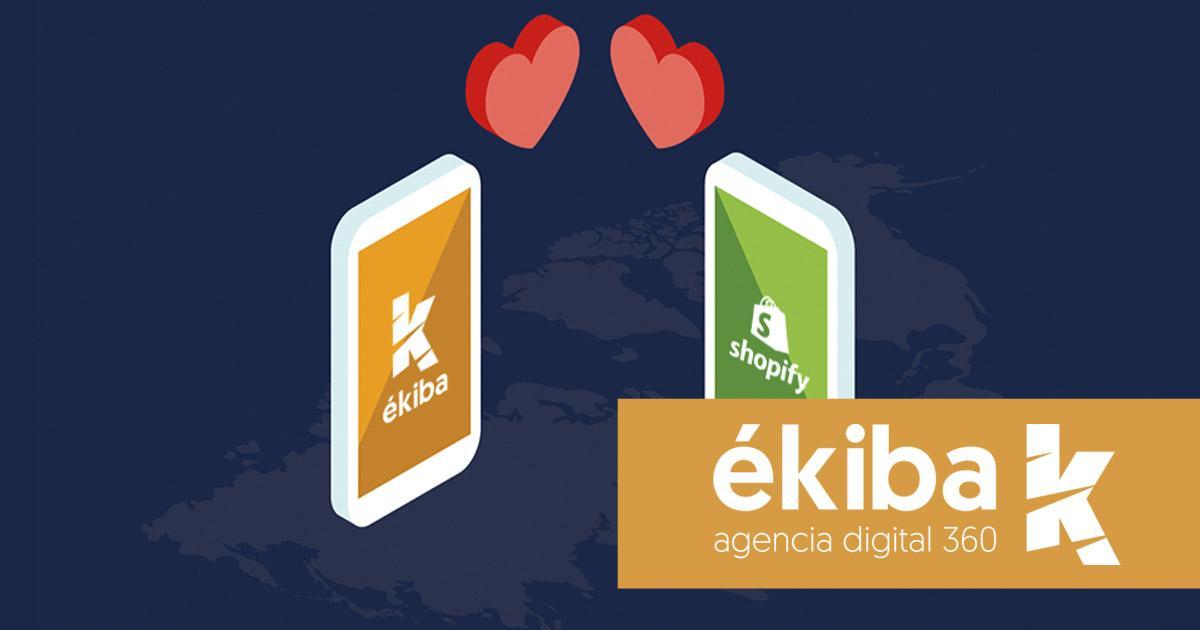 Shopify para nuevas tiendas online - Agencia ékiba