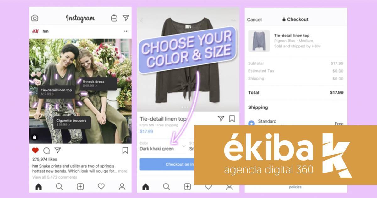 Comprar en Instagram - Agencia ékiba