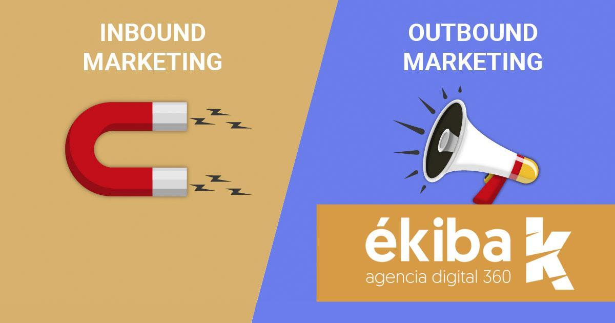 Diferencia entre inbound marketing y outbound marketing